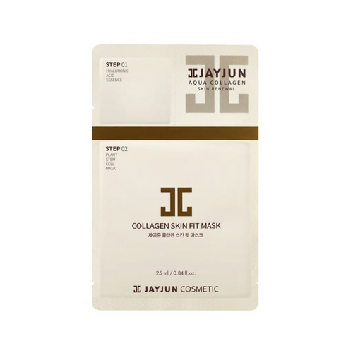JAYJUN COLLAGEN SKIN FIT MASK 1 EA - HelloPeony