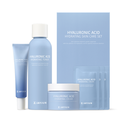 HYALURONIC ACID HYDRATING SKIN CARE SET - HelloPeony