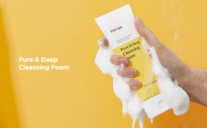 MANYO FACTORY PURE & DEEP CLEANSING FOAM - HelloPeony