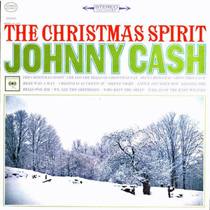 White Hot Stamper - Johnny Cash - The Christmas Spirit