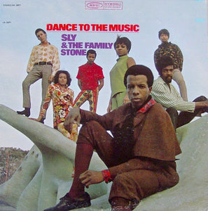 White Hot Stamper - Sly and the Family Stone - Dance to the Music