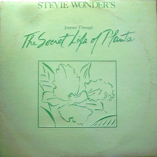 Nearly White Hot Stamper - Stevie Wonder - The Secret Life of Plants
