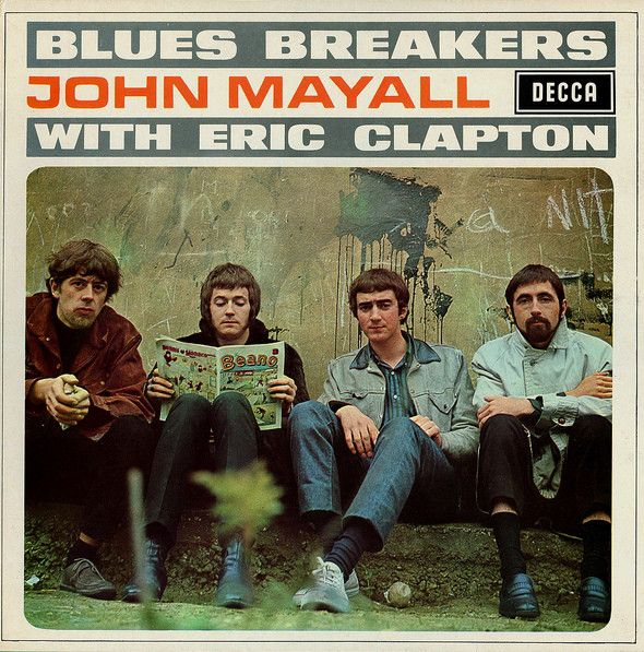Super Hot Stamper - John Mayall with Eric Clapton - Blues Breakers