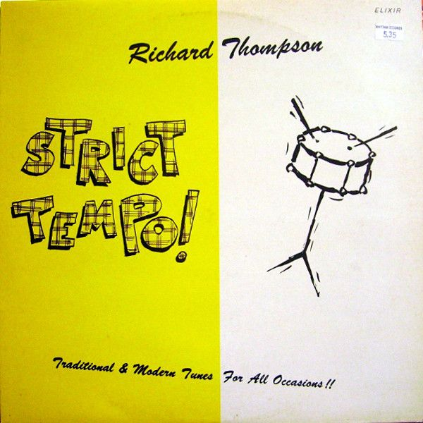 White Hot Stamper - Richard Thompson - Strict Tempo!