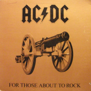AC/DC - For Those About To Rock - White Hot Stamper