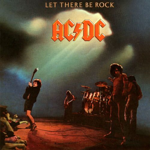 Super Hot Stamper - AC/DC - Let There Be Rock