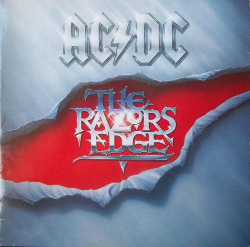 AC/DC - The Razor's Edge - Nearly White Hot Stamper