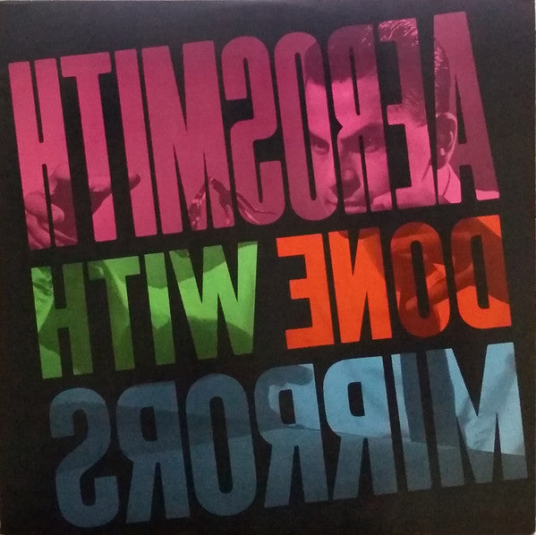 Aerosmith - Done With Mirrors - Nearly White Hot Stamper (With Issues)