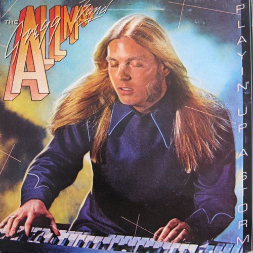 White Hot Stamper - The Gregg Allman Band - Playin' Up A Storm