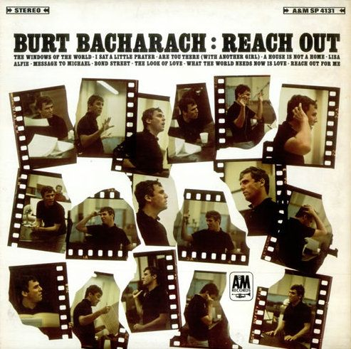 Bacharach, Burt - Reach Out - Super Hot Stamper (Quiet Vinyl)