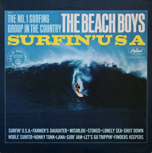 Beach Boys, The - Surfin' USA - Super Hot Stamper (Quiet Vinyl)