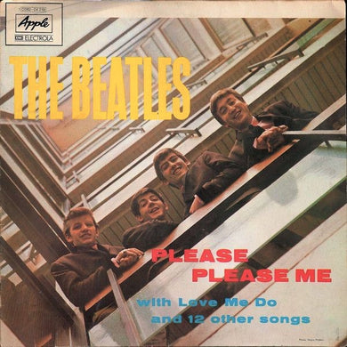 White Hot Stamper - The Beatles - Please Please Me