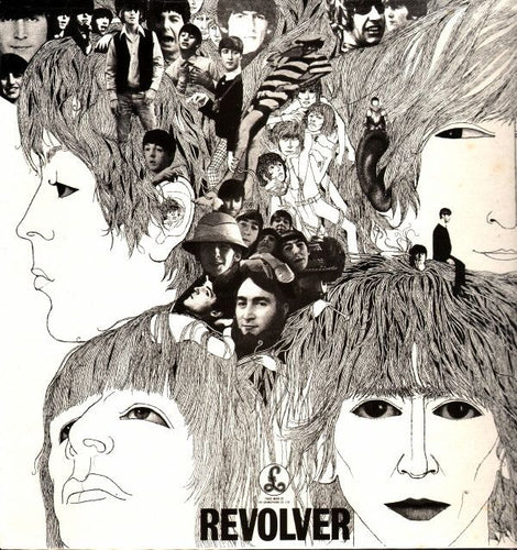 Nearly White Hot Stamper - The Beatles - Revolver