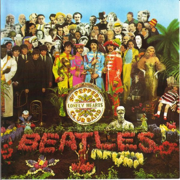 White Hot Stamper (Issues) - The Beatles - Sgt. Pepper's Lonely...