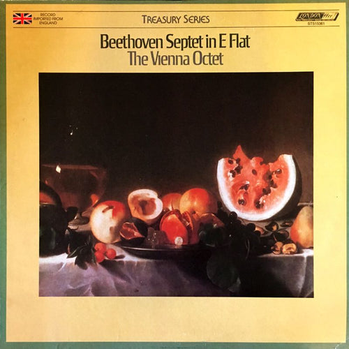Beethoven /  Septet In E Minor / Members of the Vienna Octet - Super Hot Stamper