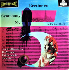 Beethoven / Symphony No. 5 / Solti / Vienna Phil. - Super Hot Stamper