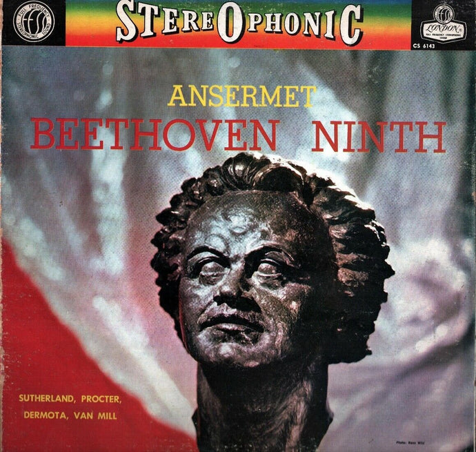 Beethoven - Symphony No. 9 / Ansermet - Super Hot Stamper (With Issues)