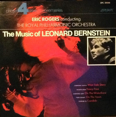 Bernstein / The Music of Leonard Bernstein / Rogers - White Hot Stamper