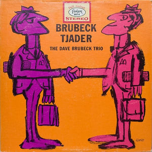 White Hot Stamper - The Dave Brubeck Trio - Brubeck-Tjader