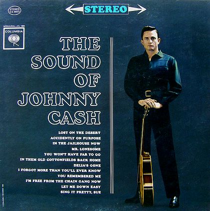 Nearly White Hot Stamper - Johnny Cash - The Sound of Johnny Cash