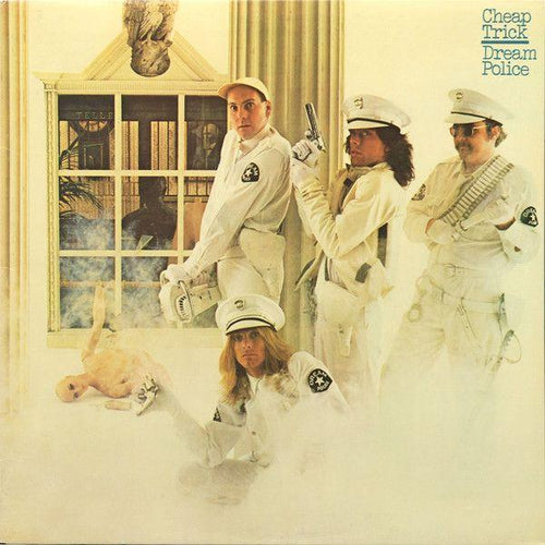 Cheap Trick - Dream Police - Nearly White Hot Stamper (With Issues)