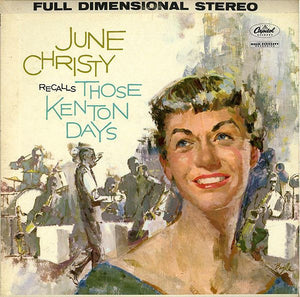 Nearly White Hot Stamper - June Christy - Recalls Those Kenton Days