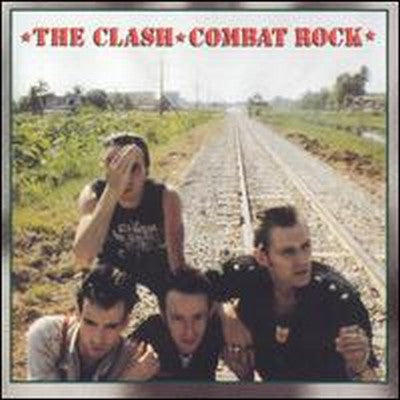 White Hot Stamper - The Clash - Combat Rock