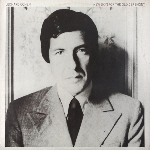 Nearly White Hot Stamper - Leonard Cohen - New Skin For the Old Ceremony