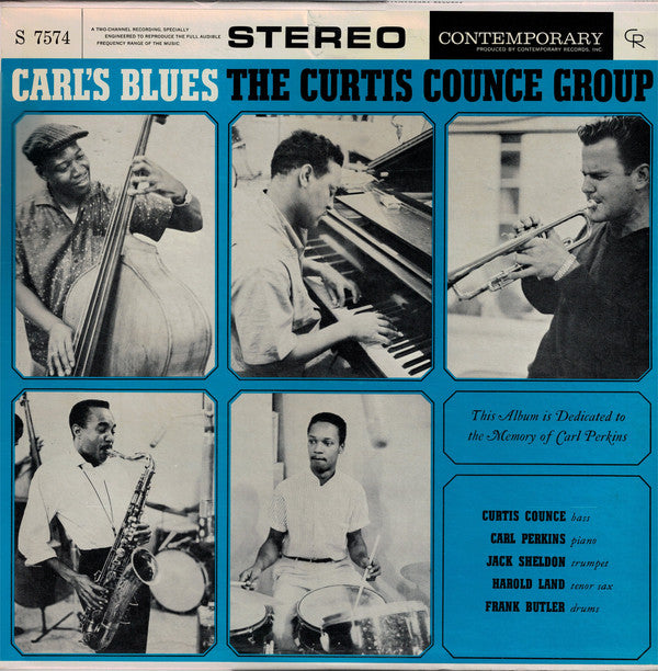 Super Hot Stamper - The Curtis Counce Group - Carl's Blues
