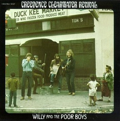 Super Hot Stamper - Creedence Clearwater Revival - Willy and the Poor Boys
