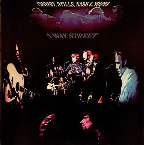 Crosby, Stills, Nash and Young - 4 Way Street - Hot Stamper (With Issues)