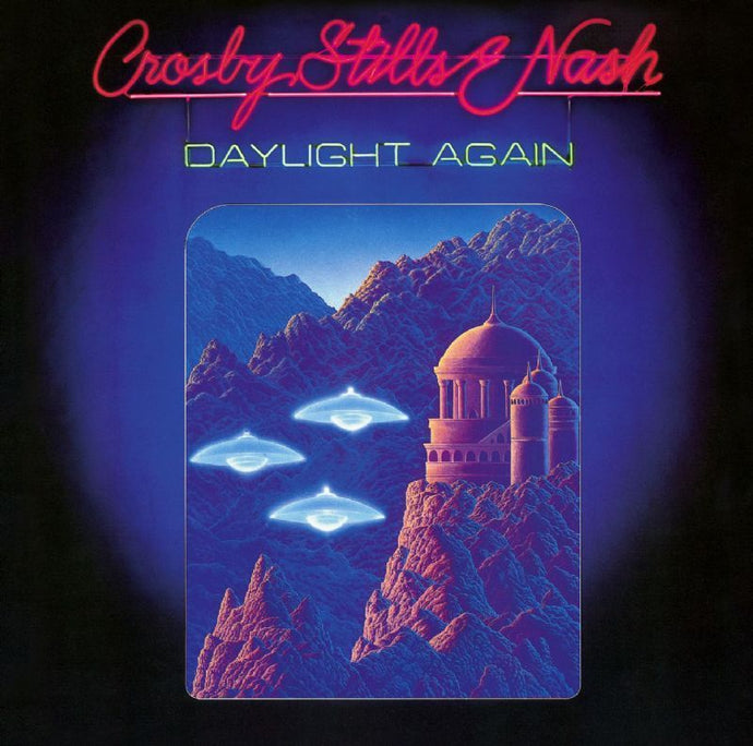 White Hot Stamper - Crosby, Stills and Nash - Daylight Again