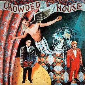 White Hot Stamper - Crowded House - Crowded House