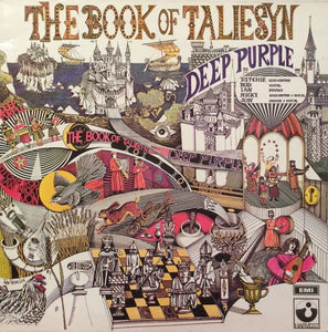 White Hot Stamper - Deep Purple - The Book of Taliesyn