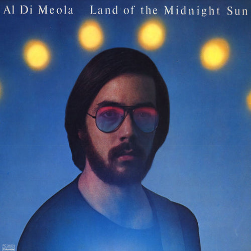Di Meola, Al - Land of the Midnight Sun - Nearly White Hot Stamper