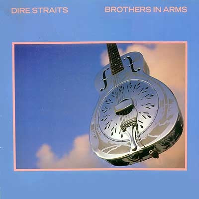 Dire Straits - Brothers In Arms - White Hot Stamper (With Issues)