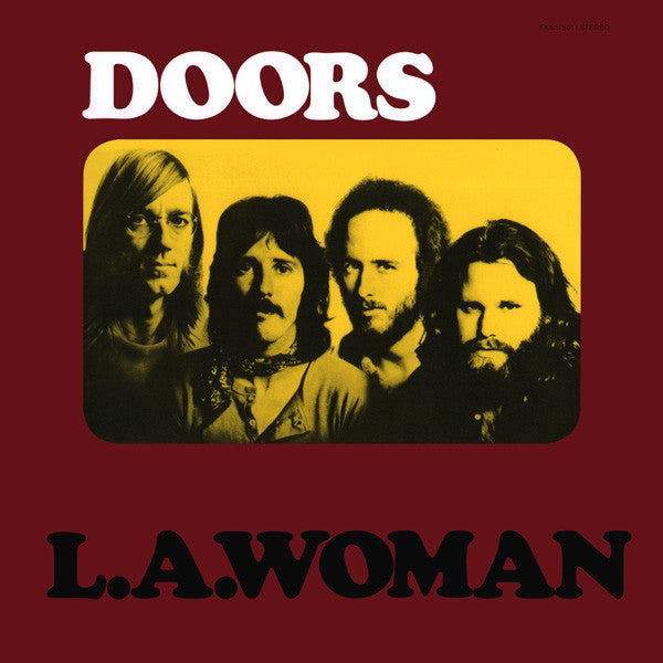 Doors, The - L.A. Woman - White Hot Stamper