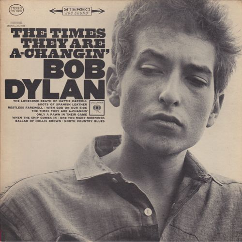 Super Hot Stamper - Bob Dylan - The Times They Are A-Changin'