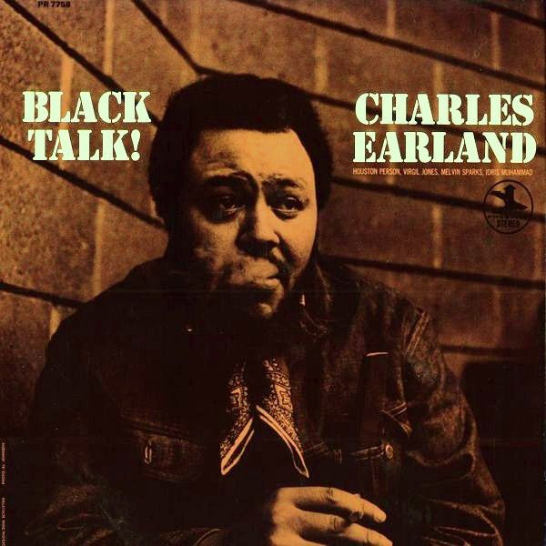 White Hot Stamper - Charles Earland - Black Talk!