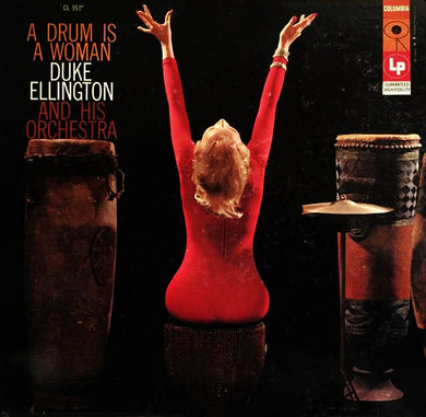 Nearly White Hot Stamper - Duke Ellington - A Drum Is A Woman