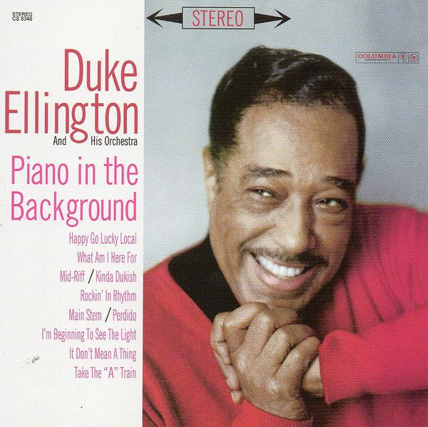 Nearly White Hot Stamper - Duke Ellington - Piano In The Background