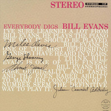 Evans, Bill - Everybody Digs Bill Evans - Super Hot Stamper (Quiet Vinyl)