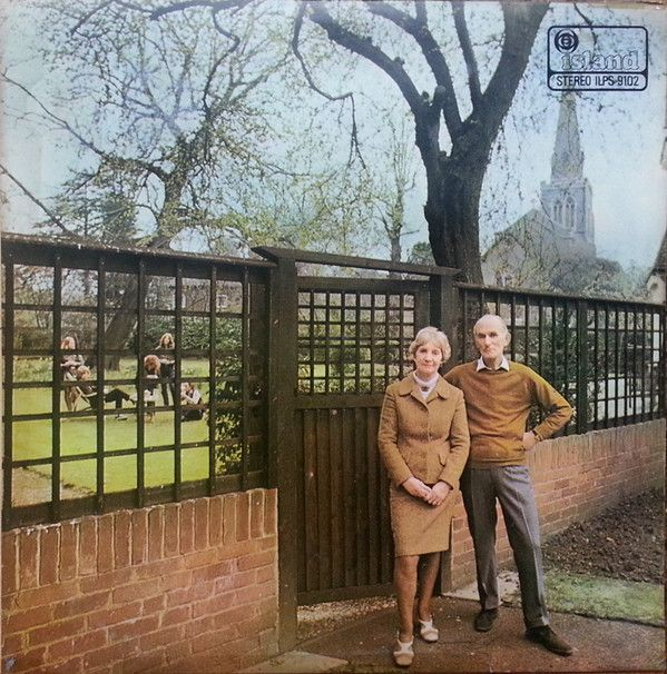 Nearly White Hot Stamper - Fairport Convention - Unhalfbricking