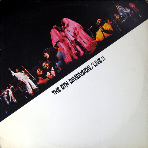 Fifth Dimension, The - Live!! - White Hot Stamper