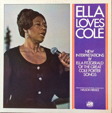 Nearly White Hot Stamper - Ella Fitzgerald - Ella Loves Cole