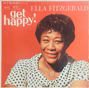Super Hot Stamper - Ella Fitzgerald - Get Happy!