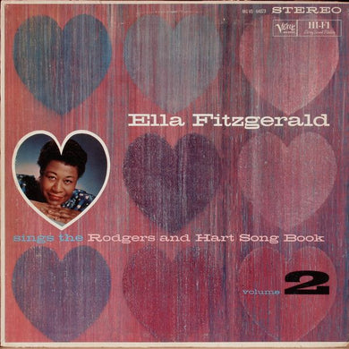 White Hot Stamper - Ella Fitzgerald - The Rodgers & Hart Song Book, Vol. 2
