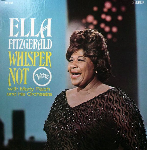 Nearly White Hot Stamper - Ella Fitzgerald - Whisper Not