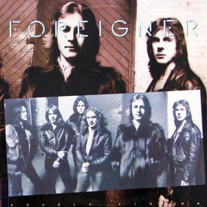 Foreigner - Double Vision - White Hot Stamper