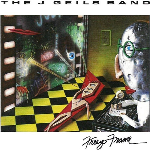 Geils, J. Band - Freeze Frame - Hot Stamper